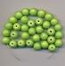 Groene kraal opaque 9