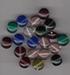 Plat ronde  kraaltjes helder 10x4 mm