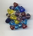 Driehoekjes helder 10x12 mm