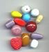 Kleur mix opaque 11--19 mm
