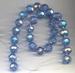 Kristal rond licht blauw ABkleur