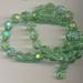 Kristal facet licht groen 8