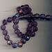 Kristal facet amethist paars 8