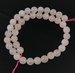 Rose quartz rond  12
