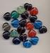 Hartjes mix kleur  7x 16 mm  kl