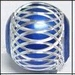 Blauwe  Aluminium kraal