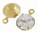 Ronde acryl kraal helder licht groen