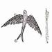Ronde Acryl kraal helder blauw