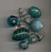 Lampwork mix Turquoise