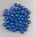 Blauwe kraal opaque 5