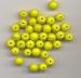 Gele kraal opaque 6