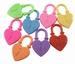 Hanger hart slot mix kleur
