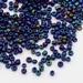 Iris kleuren blauw opaque