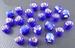 Blauw donker zilverfolie