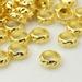 Sier spacer rondel goud