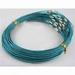 Spang blauw/turquoise