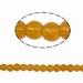 Geel/goude kraal rond 4 mm