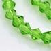 bicoon Kristal  hand geslepen groen