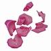 Zee schelpjes rose