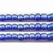 Heldere blauwe kraal luster