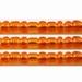 Kern zilverfolie  donker oranje